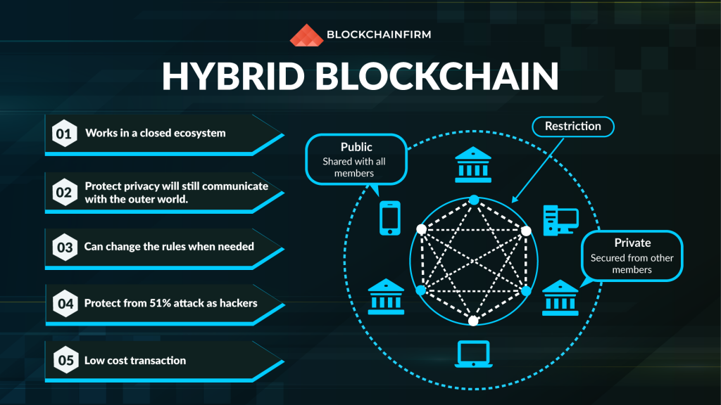 hybrid blockchain